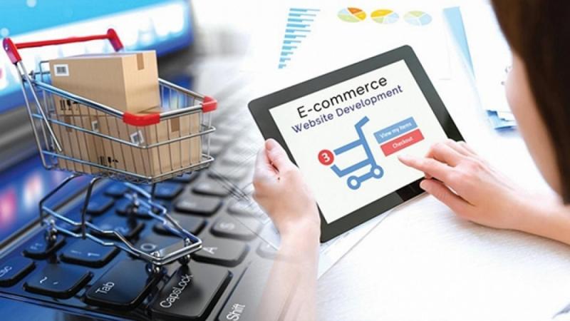 Theo Thông tư 40, các sàn thương mại điện tử sẽ phải khai thay, nộp thuế thay cho người bán trên sàn (Ảnh minh họa: KT)