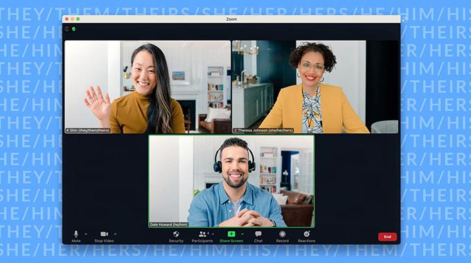 Zoom không ngừng tìm kiếm những cách thức mới để cải thiện sản phẩm, kỹ thuật và năng suất cho các cuộc họp. Ảnh Reuters