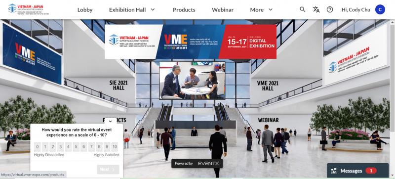 Triển lãm Công nghiệp Hỗ trợ Việt Nam – Nhật Bản (SIE) và Triển lãm Quốc tế về Công nghệ Chế tạo Phụ tùng Công nghiệp (VME) do Công ty Reed Tradex Việt Nam phối hợp với Tổ chức Thúc đẩy Ngoại thương Nhật Bản (JETRO) Văn phòng tại Hà Nội và Cục Xúc tiến Thương mại (VIETRADE) Bộ Công Thương. Ảnh: TL.