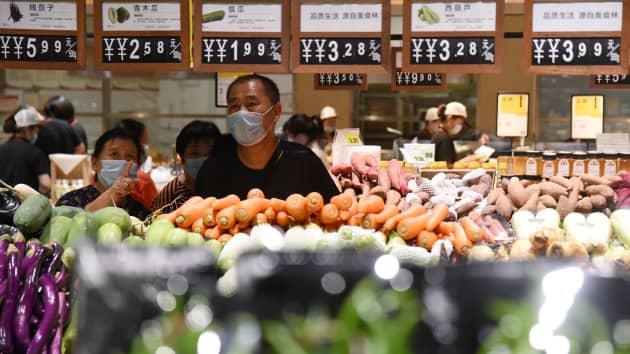 Châu Á sẽ trở thành thị trường thực phẩm và đồ uống lớn nhất thế giới. Ảnh: CNBC.