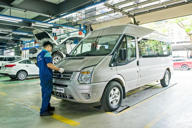 Những khách hàng trực tiếp mang xe tới đại lý và có đặt lịch hẹn trước sẽ được ưu tiên sử dụng dịch vụ bảo dưỡng nhanh trong vòng 60 phút (Express Service). Ảnh: TL.