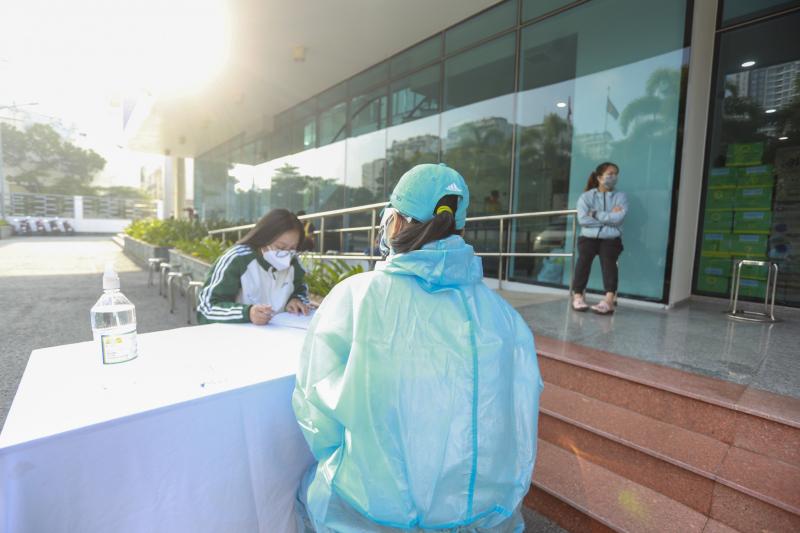 Công tác tổ chức tuân thủ các quy định về giãn cách, nguyên tắc 5K của Bộ Y tế.