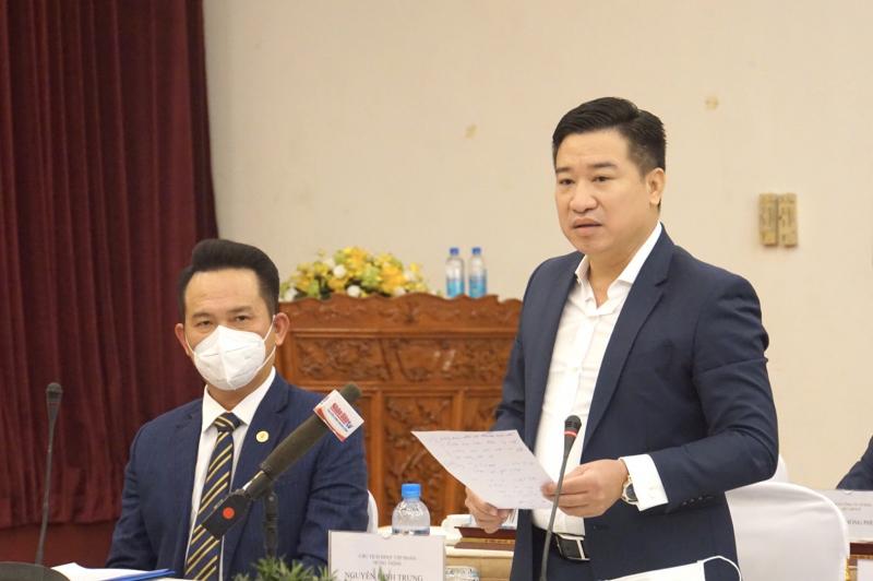 Ông Nguyễn Đình Trung, Chủ tịch Tập đoàn Hưng Thịnh lo lắng về nguồn lao động đối với thành phố và doanh nghiệp sau đại dịch