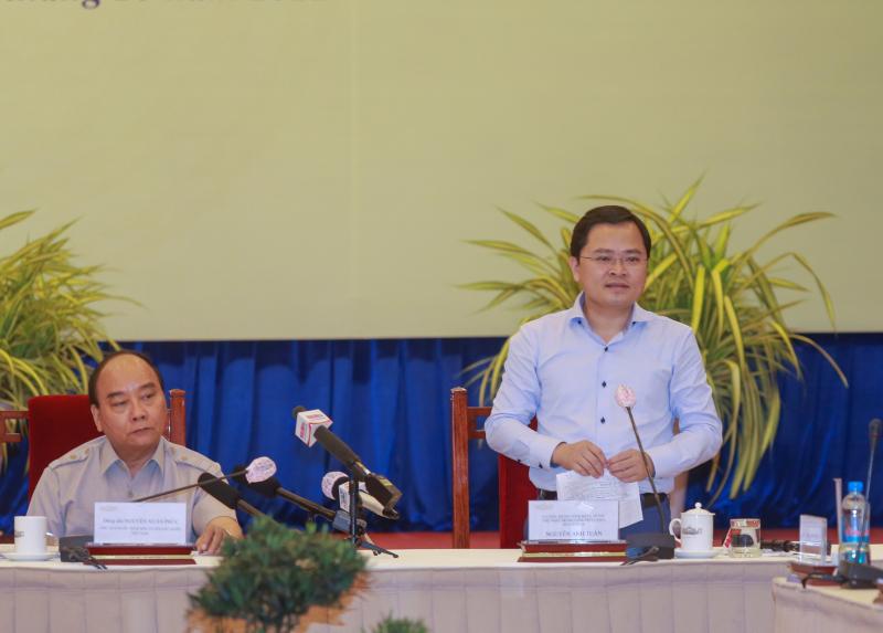Ông Nguyễn Anh Tuấn, Ủy viên TW Đảng, Bí thư thứ nhất Trung ương Đoàn đánh giá cao 3 kết quả nổi bật của Hội Doanh nhân trẻ Việt Nam trong thời gian qua.