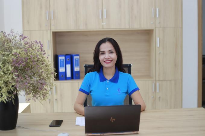 Doanh nhân Phạm Thị Bích Huệ được mệnh danh là nữ tướng ngành logistics Việt Nam