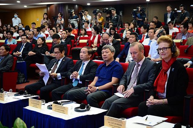 Toàn cảnh Diễn đàn Khởi nghiệp ASEAN 2020.